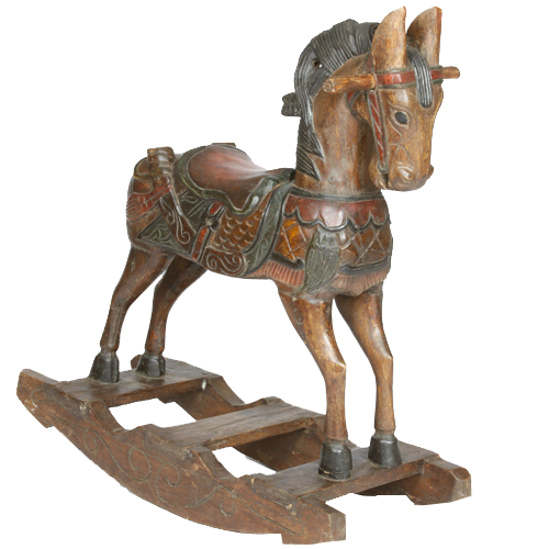 antique-rocking-horse
